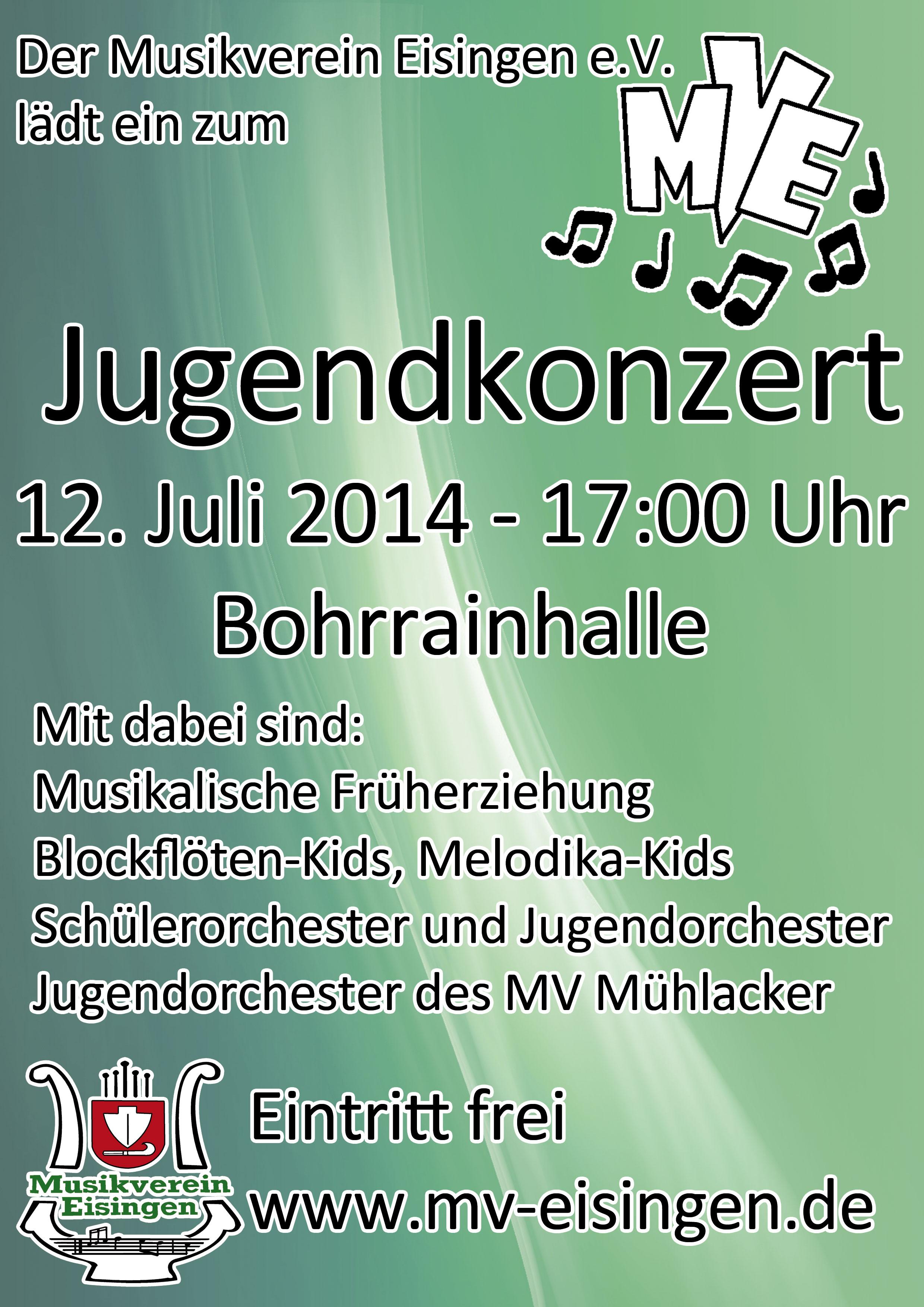 Jugendkonzert 2014