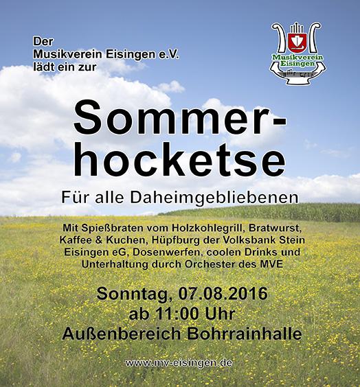 Sommerhocketse 2016